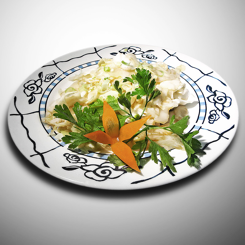 Mancare chinezeasca Varza cu usturoi