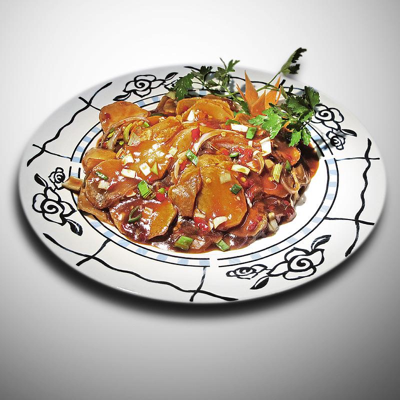 Mancare chinezeasca Cartofi in sos Sichuan