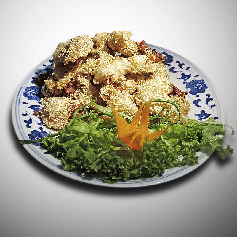 Mancare chinezeasca Peste cu susan