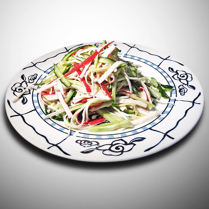 Mancare chinezeasca Salata de surimi