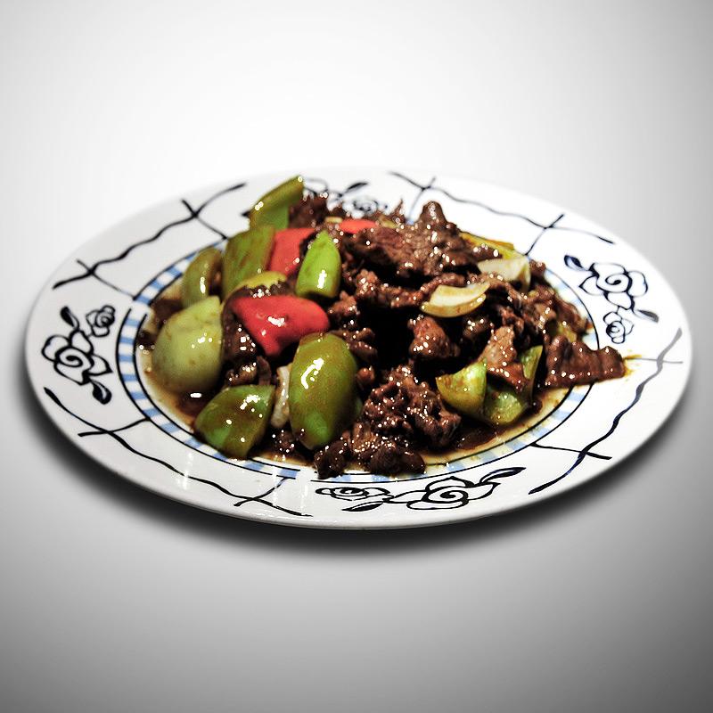 Mancare chinezeasca Vita cu ardei gras