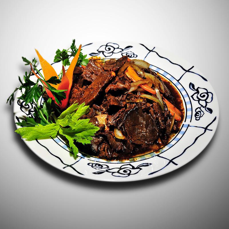 Mancare chinezeasca Vita in sos chinezesc