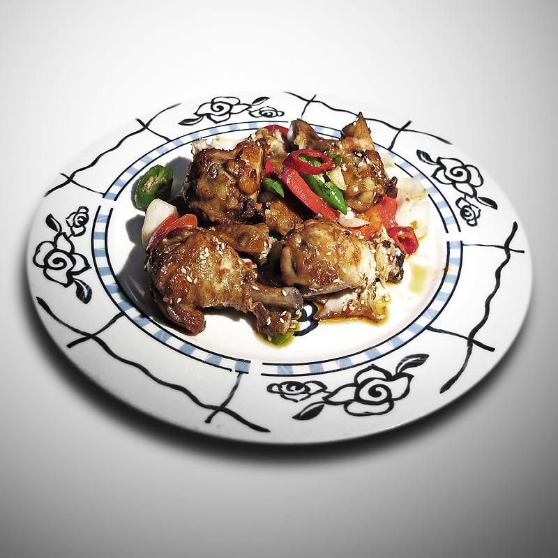 Mancare chinezeasca Ciocanele de pui Gan Bian