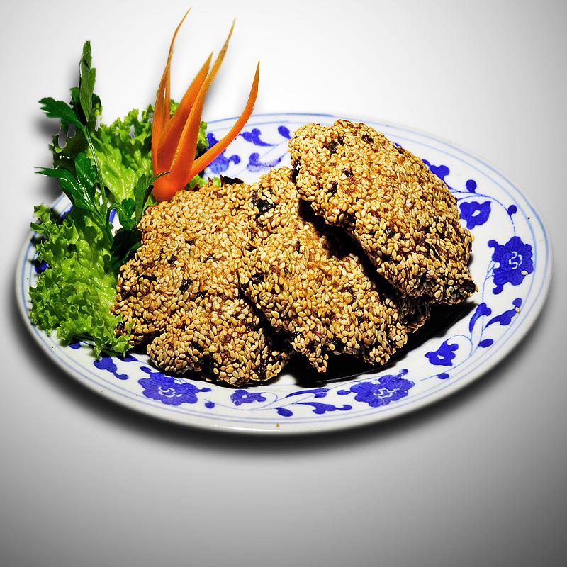 Mancare chinezeasca Chiftelute cu susan
