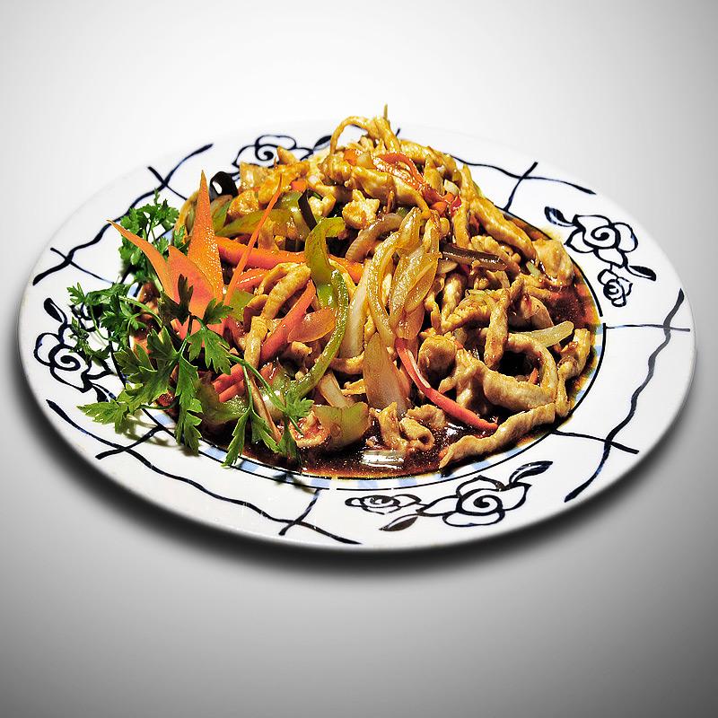 Mancare chinezeasca Pui cu aroma de peste