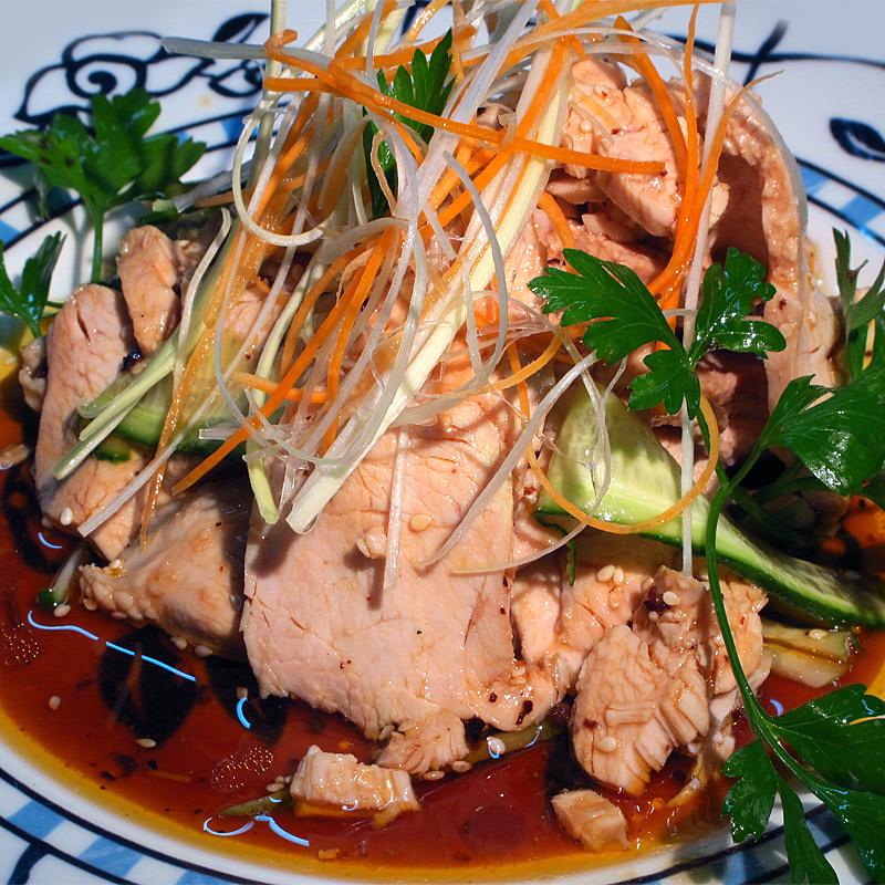 Mancare chinezeasca Salata din piept de pui
