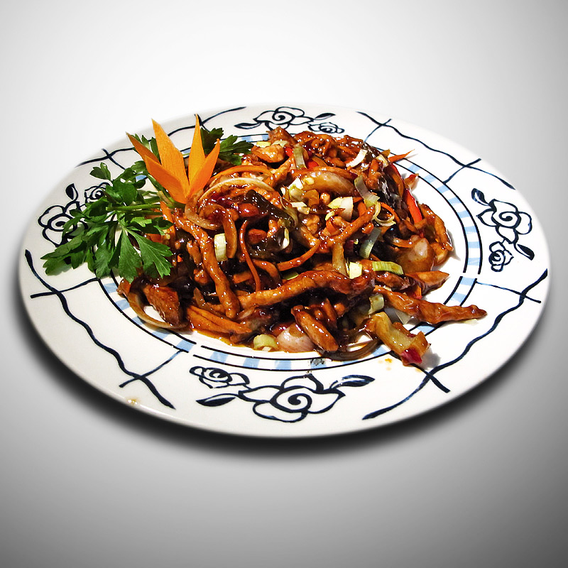 Mancare chinezeasca Porc aroma de peste