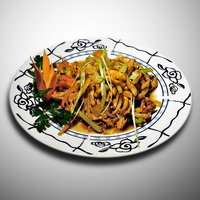 Mancare chinezeasca Porc cu ardei gras