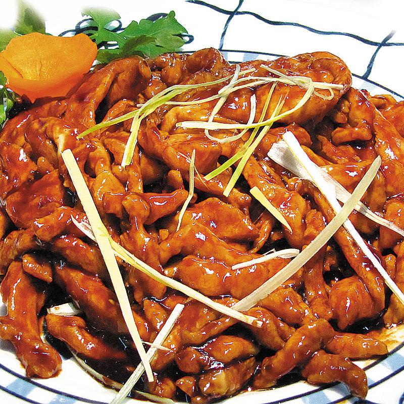 Mancare chinezeasca Porc cu crema soia