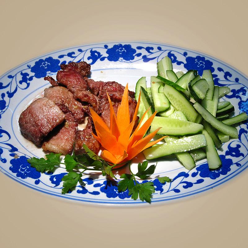 Mancare chinezeasca Porc cu usturoi