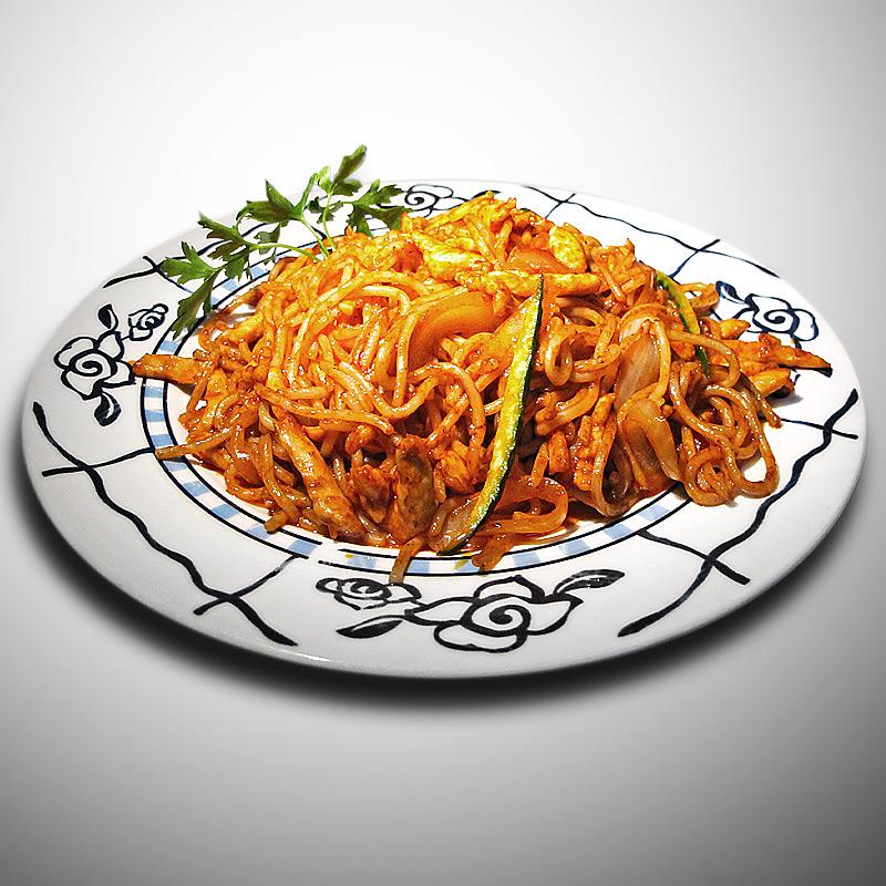 Mancare chinezeasca Spaghete prajite