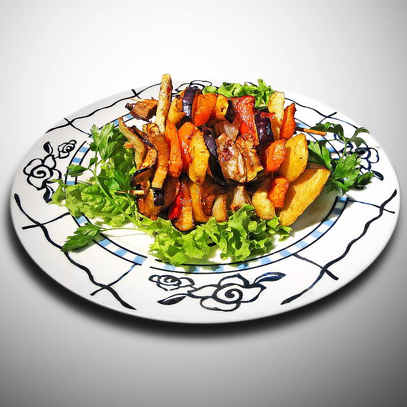 Mancare chinezeasca Frigarui cu legume