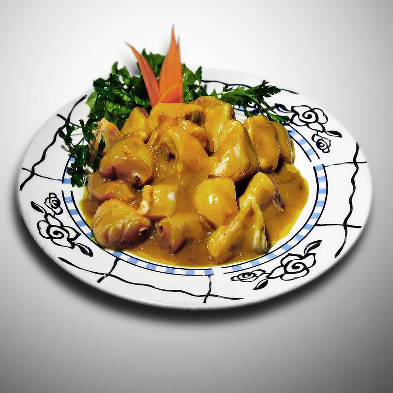 Mancare chinezeasca Aripi de pui cu curry