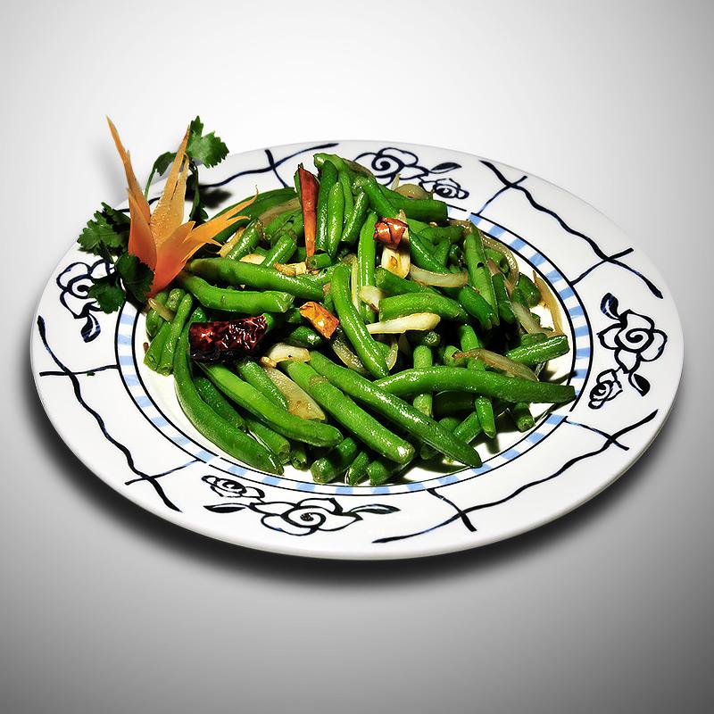 Mancare chinezeasca Fasole verde Gan Bian