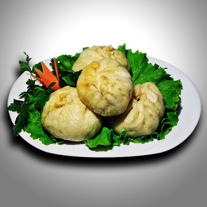 Mancare chinezeasca Bao Zi cu carne de porc