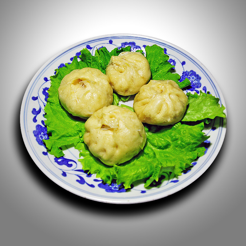 Mancare chinezeasca Bao Zi cu legume