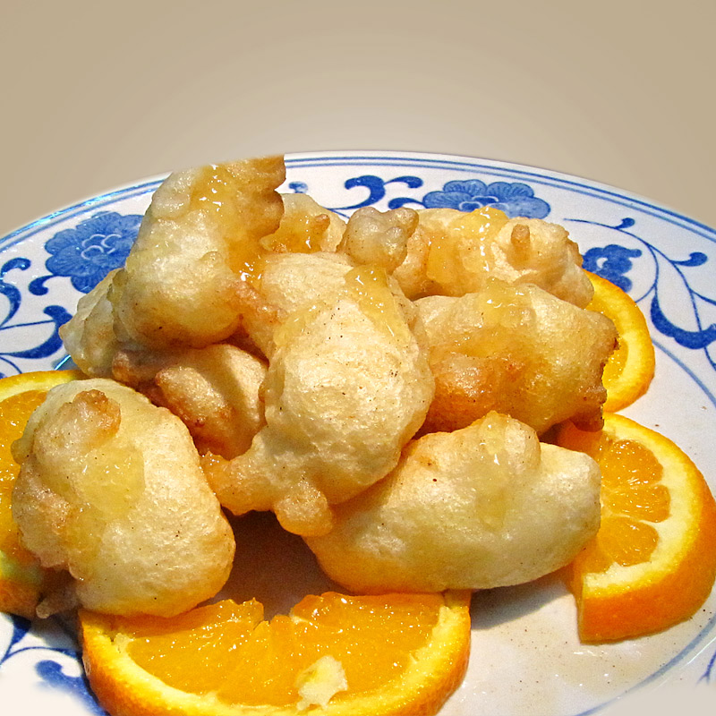 Mancare chinezeasca Banana prajita