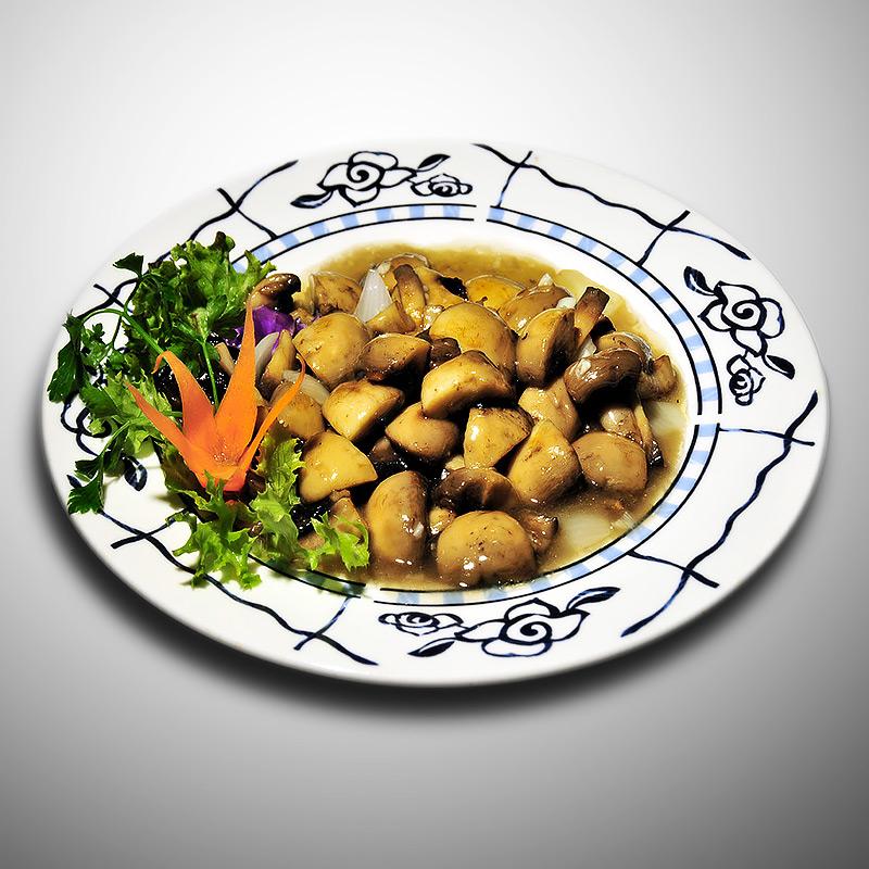 Mancare chinezeasca Ciuperci sote