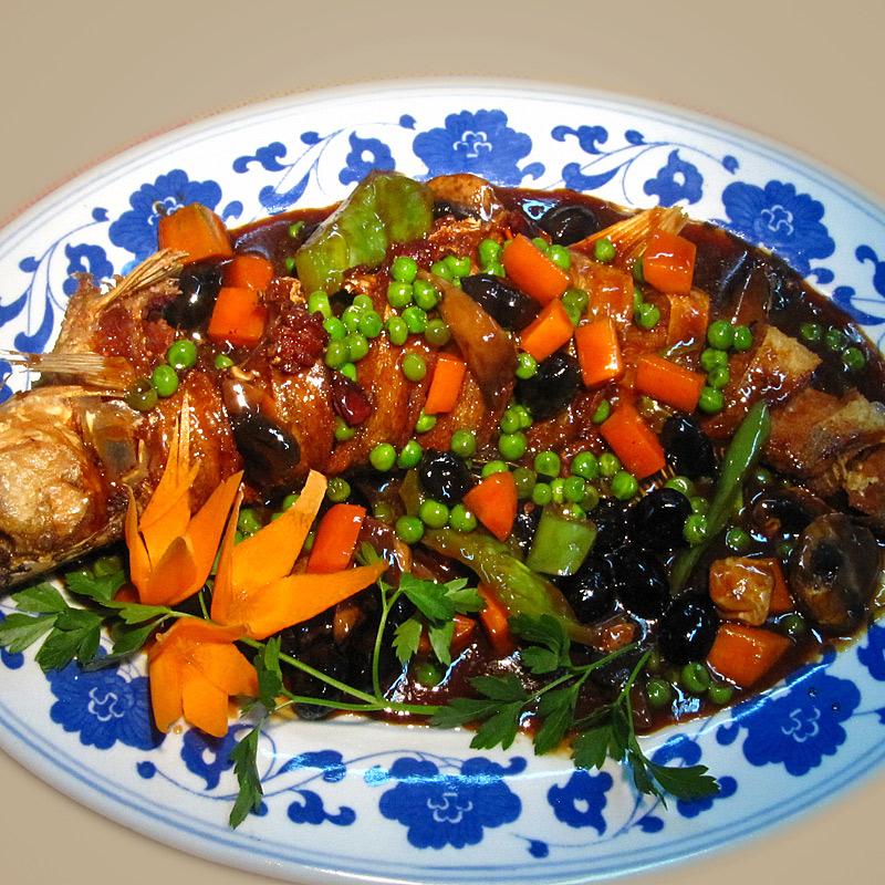Mancare chinezeasca Peste in sos chinezesc