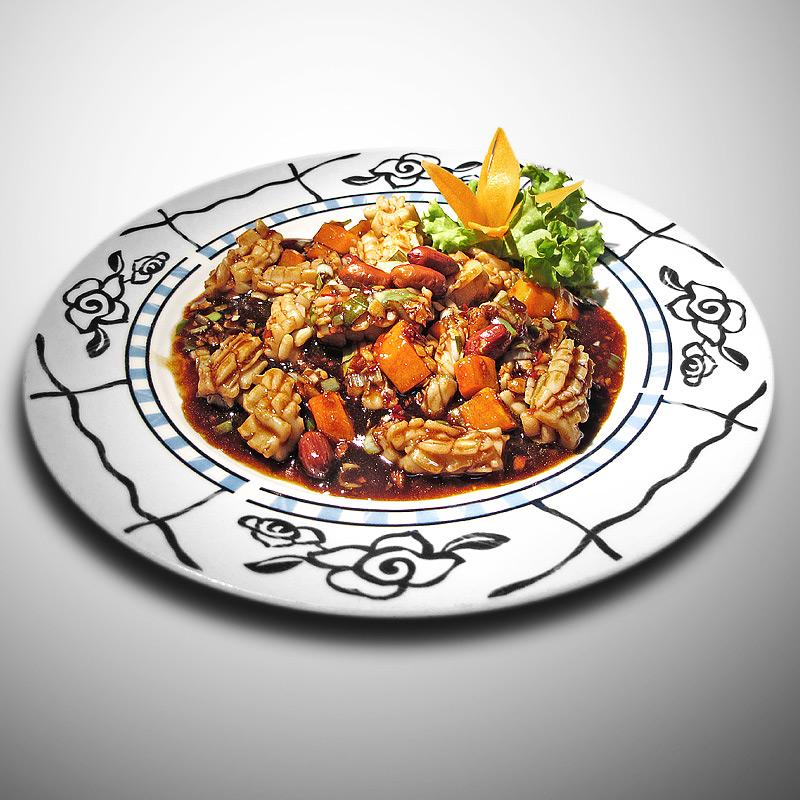 Mancare chinezeasca Calamar Gong Bao