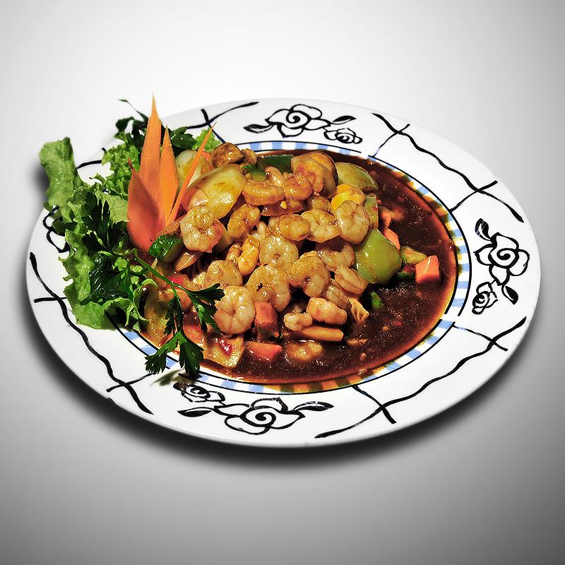 Mancare chinezeasca Creveti cu sos iute