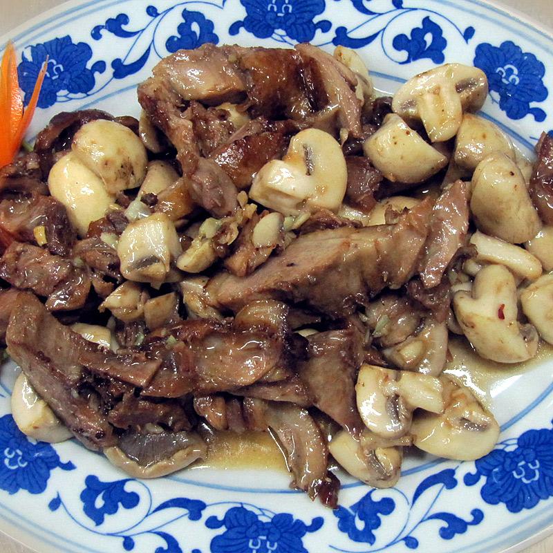 Mancare chinezeasca Rata cu ciuperci