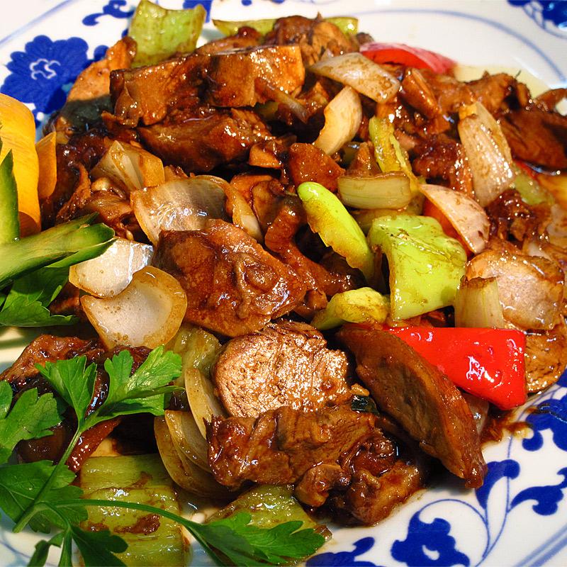 Mancare chinezeasca Rata in sos chinezesc