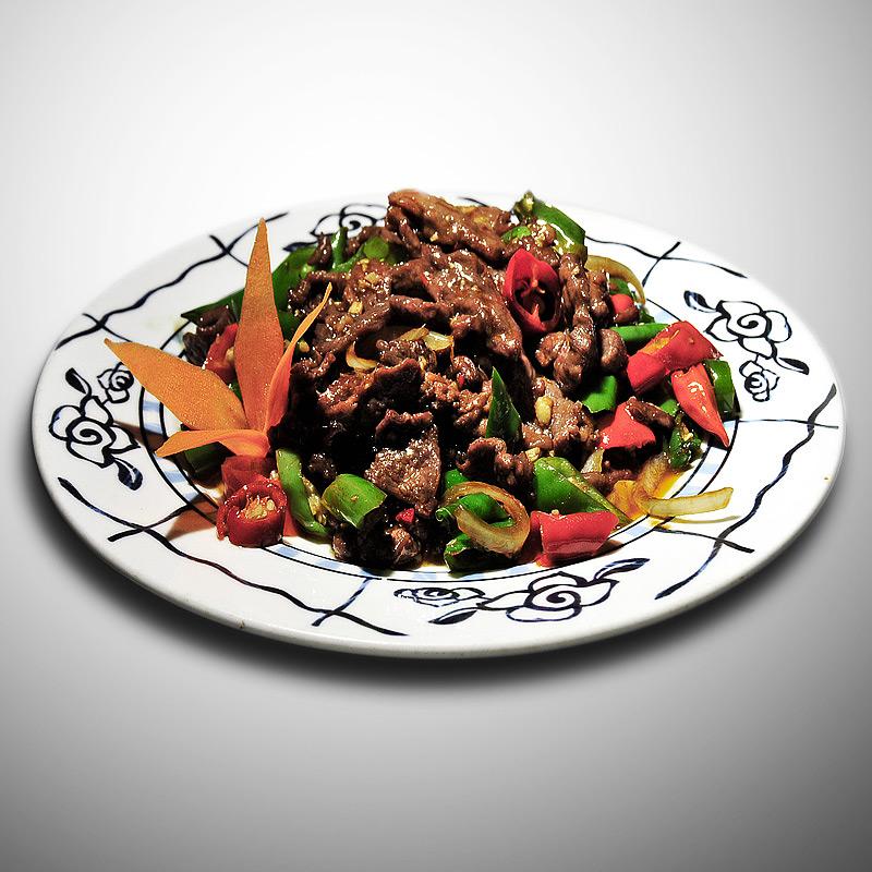 Mancare chinezeasca Vita cu ardei iute