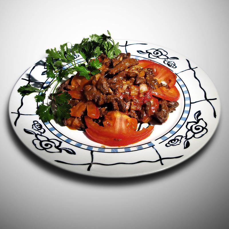 Mancare chinezeasca Vita pai cu sos de rosii aromate