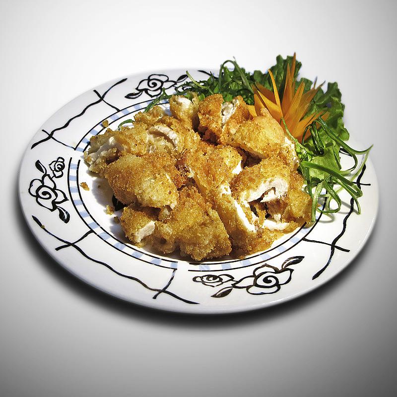 Mancare chinezeasca Piept de pui crocant
