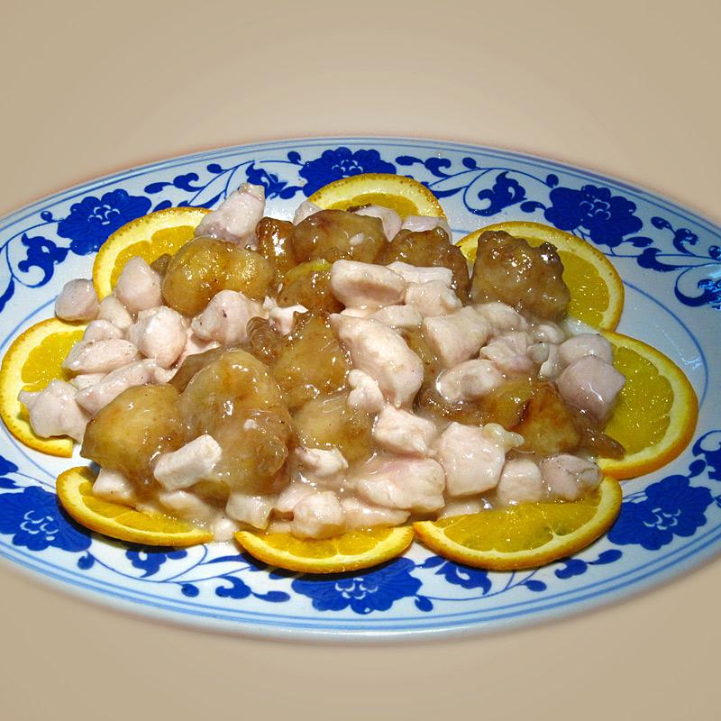 Mancare chinezeasca Pui cu portocale