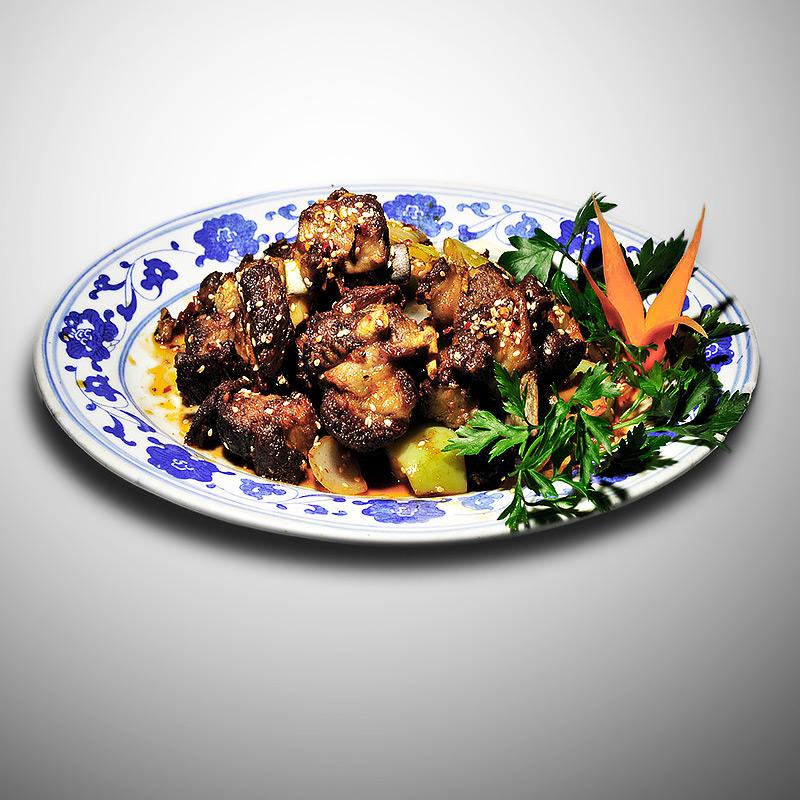 Mancare chinezeasca Coaste de porc crocante