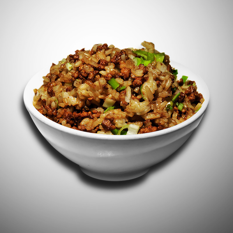 Mancare chinezeasca Orez cu carne tocata