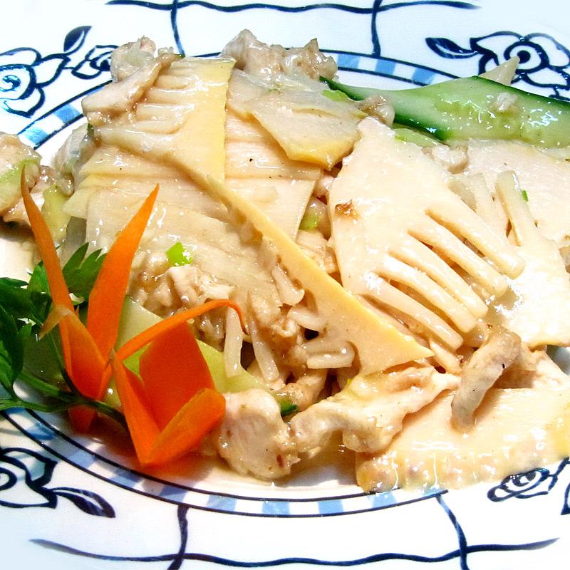 Mancare chinezeasca Bambus sote
